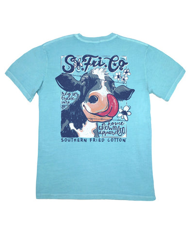 Southern Fried Cotton - Cow Lick Tee