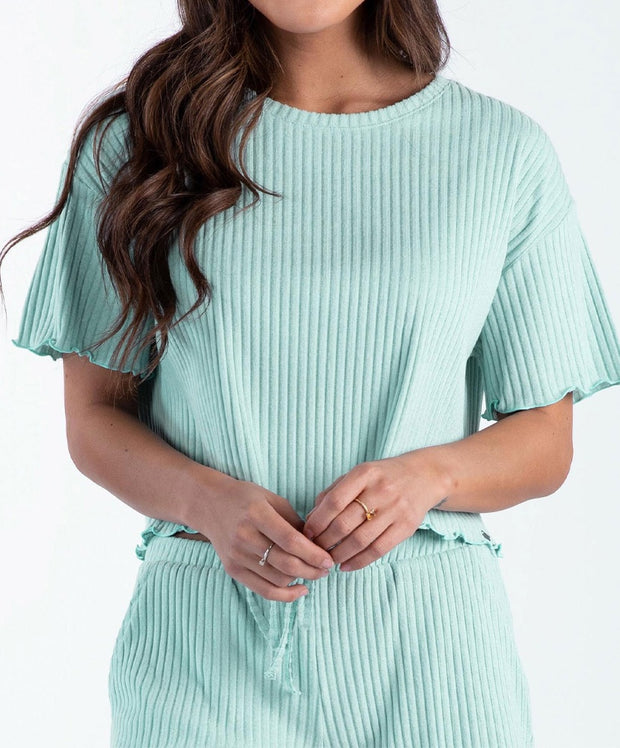 Southern Shirt Co - Ribbed Sincerely Soft Lounge Top