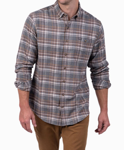 Southern Shirt Co - Boulder Heather Flannel Long Sleeve