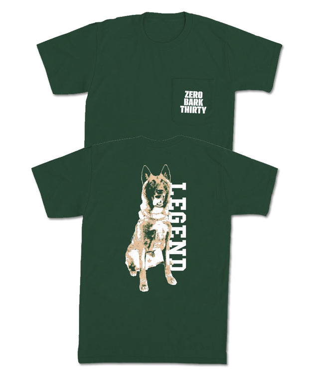 Old Row - Zero Bark Thirty Pocket Tee