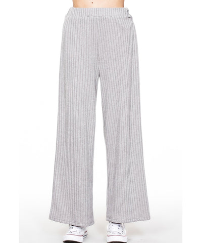 En Creme - Long Wide Leg Relaxed Pants