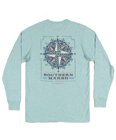 Southern Marsh - Branding - Compass Long Sleeve Tee