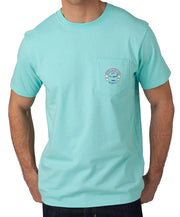 Southern Tide - Sailboat T-Shirt Aqua Front