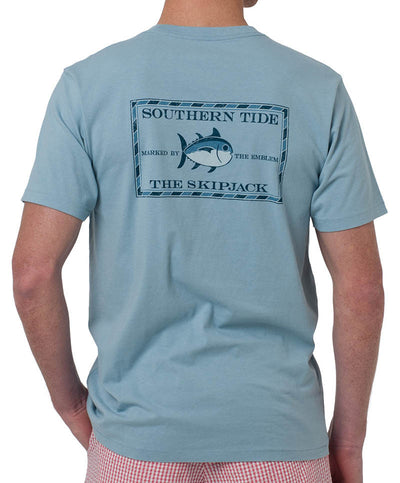 Southern Tide - Vintage Skipjack T-Shirt Cool Granite Back