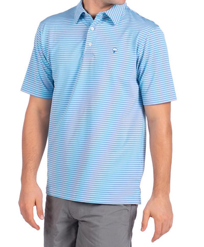 Southern Shirt Co - Carolina Stripe Perf Polo
