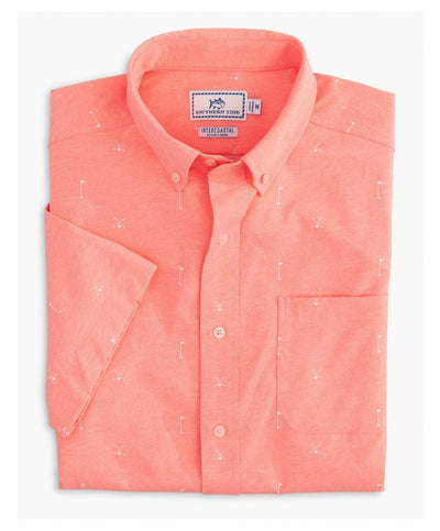 Southern Tide - Cross Link  Intercoastal Short Sleeve Sport Shirt