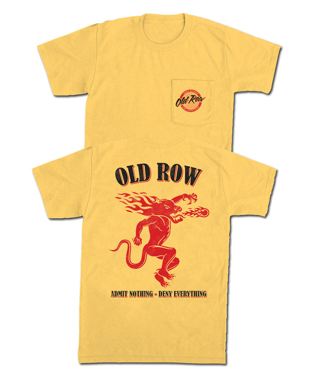Old Row - Spicy Shot Pocket Tee