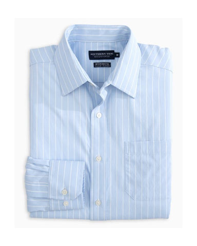 Southern Tide - Backrush Stripe IC Performance L/S Shirt