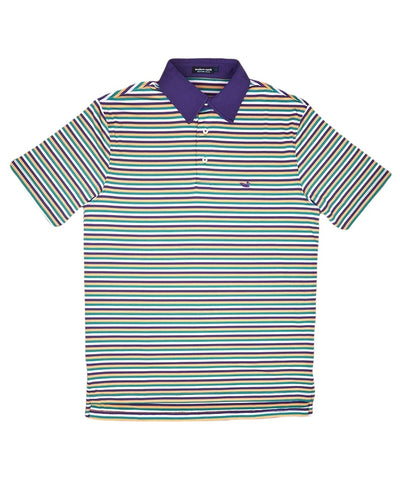 Southern Marsh - Bermuda Decatur Stripe Polo