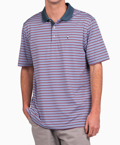 Southern Shirt Co - Dawson Stripe Performance Polo