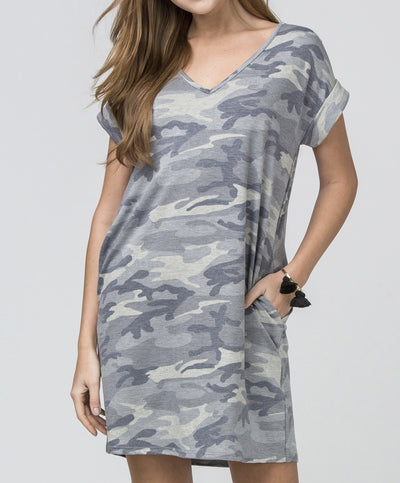On The Hunt Camo Dress