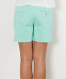 "Southern Tide - Ladies Chino Shorts 5"" - Ice Green"