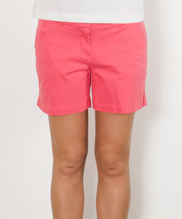 "Southern Tide - Ladies Chino Shorts 5"" - Sunkist Coral"