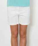 "Southern Tide - Ladies Chino Shorts 5"" - White"