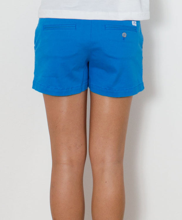 "Southern Tide - Ladies Chino Shorts 5"" - Curacao Blue"