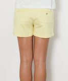 "Southern Tide - Ladies Chino Shorts 5"" - Lemonade"