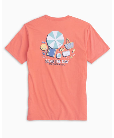 Southern Tide - Seas The Day Tee