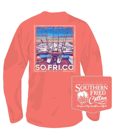 Southern Fried Cotton - The One That Got Away Long Sleeve Tee