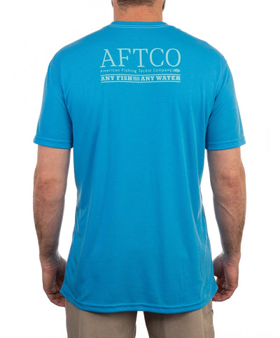 Aftco - Anytime Drirelease Performance Tee