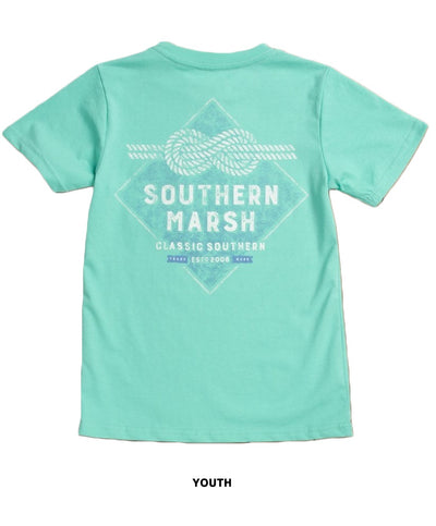 Southern Marsh - Youth Branding - Nautical Knot Tee