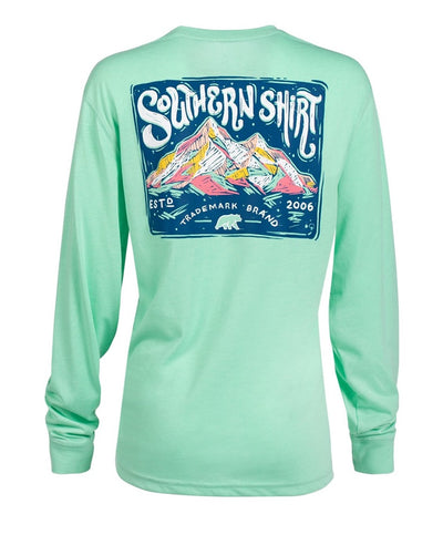 Southern Shirt Co - Chalky Mountains Long Sleeve Tee