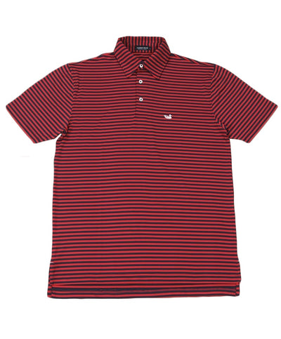 Southern Marsh - Bermuda Somerset Stripe Polo