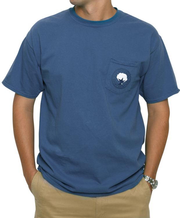 Southern Shirt Co. - Yacht Club Short Sleeve Tee - Yale Navy Front
