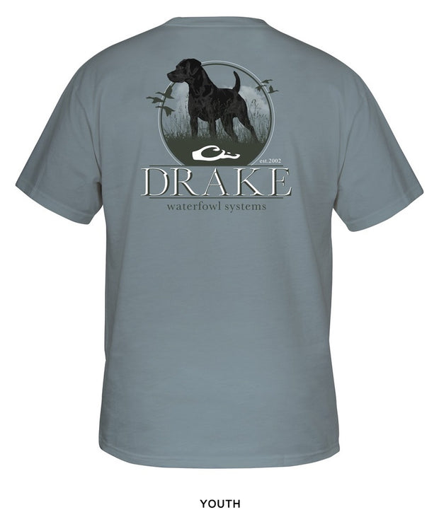 Drake - Youth Standing Black Lab Tee