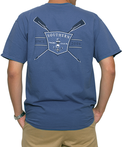 Southern Shirt Co. - Yacht Club Short Sleeve Tee - Yale Navy