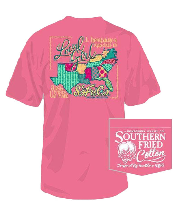 Southern Fried Cotton - Local Girl Tee