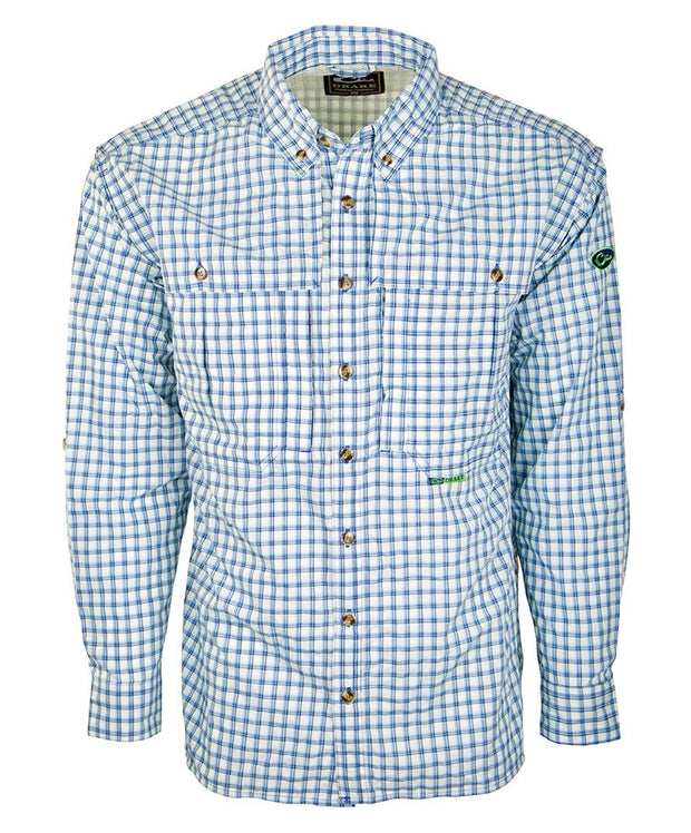 Drake - Featherlite Wingshooter's Plaid Shirt Long Sleeve