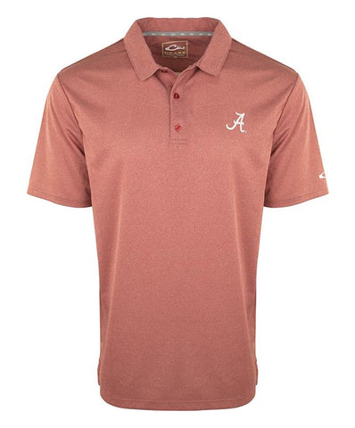 Drake - Alabama Vintage Heather Polo