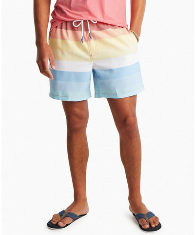 Southern Tide - Galley Stripe Swim Trunk