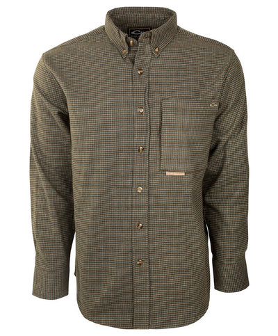 Drake - Autumn Brushed Twill Long Sleeve Shirt