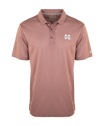 Drake - Mississippi State Vintage Heather Polo