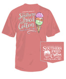 Southern Fried Cotton - 3 Scoops Pocket Tee