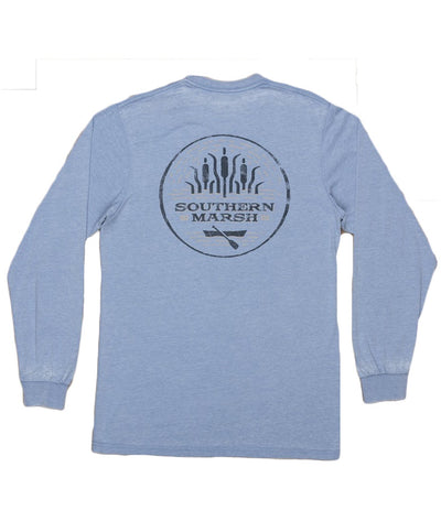 Southern Marsh - Seawash Long Sleeve Tee - Paddle