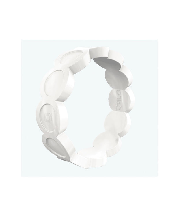 Qalo - Women's Scallop Pearl Ring