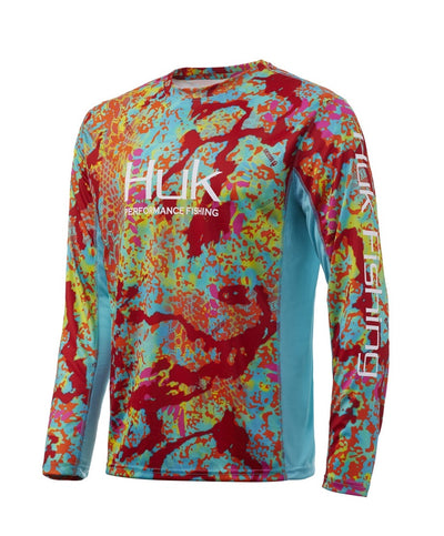 Huk - Icon X Kryptek Camo Long Sleeve