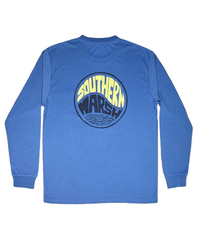 Southern Marsh - FieldTec Comfort - Retro Riptide Long Sleeve Tee