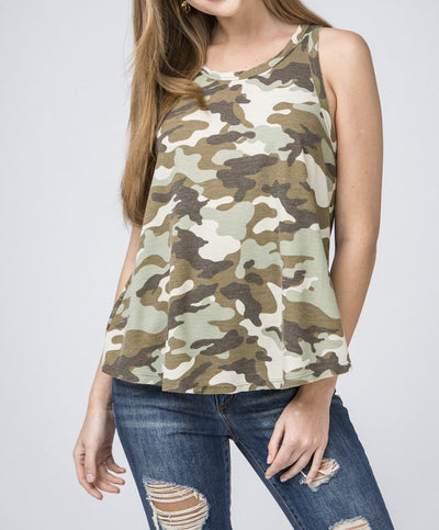In Plain Sight Camo Tank