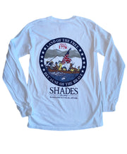 Shades - Crossing the Delaware Long Sleeve Tee