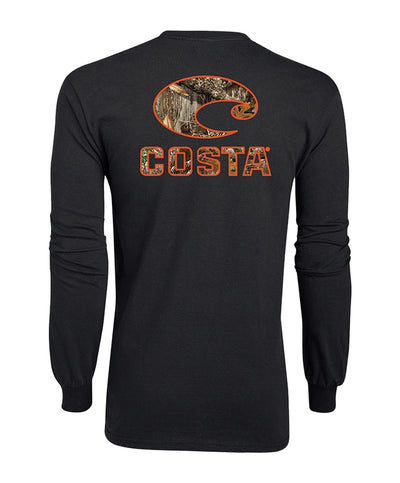 Costa - Camo Long Sleeve Tee