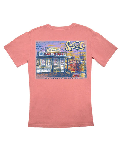Southern Fried Cotton - Captain Jack's Bait Shack Tee