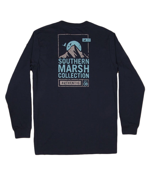 Southern Marsh - Summit Poster Long Sleeve Tee