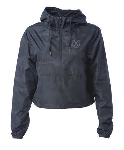 Old Row - Crest Cropped Windbreaker