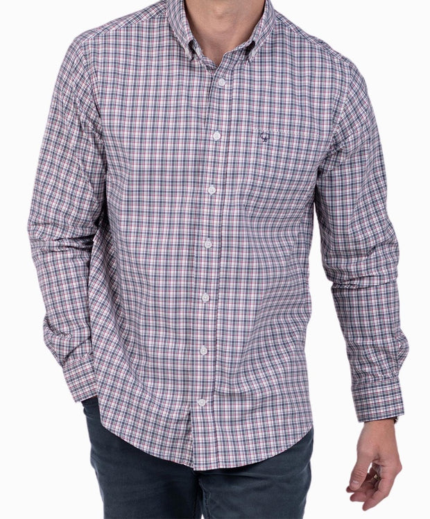 Southern Shirt Co - Tanner Plaid Long Sleeve Shirt