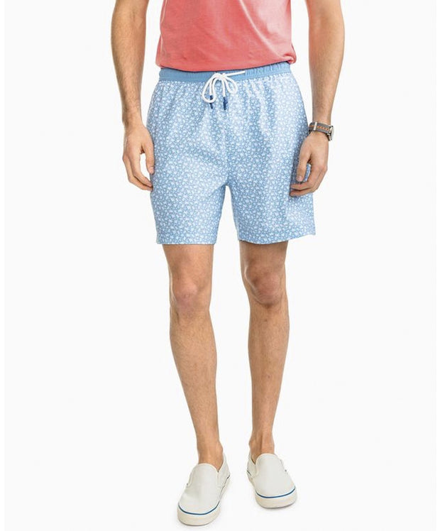 Southern Tide - Sea Turtles Swim Trunk