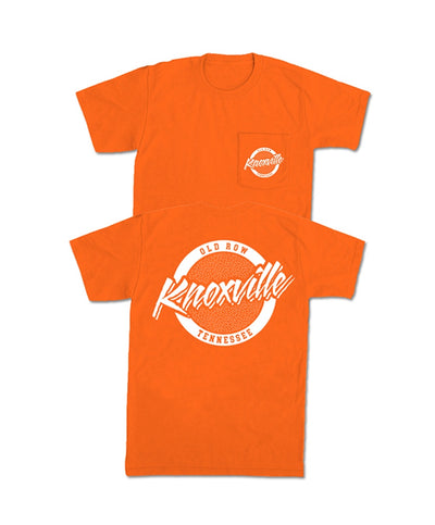 Old Row - Knoxville, Tennessee Circle Logo Pocket Tee
