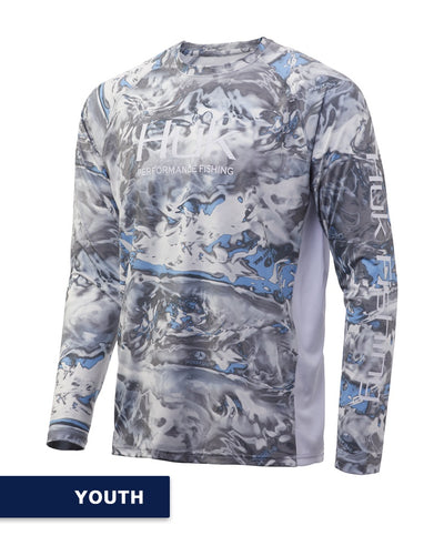 Huk - Youth Pursuit Camo Vented